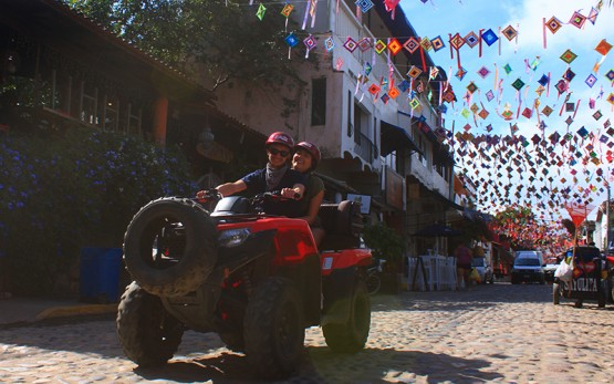 ATV Tour Motos Pueblos Puerto Vallarta Riviera Nayarit