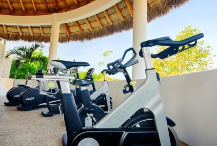 Biciclertas Gimnasio Hotel B Nayar Riviera Nayarit Resort Todo Incluido