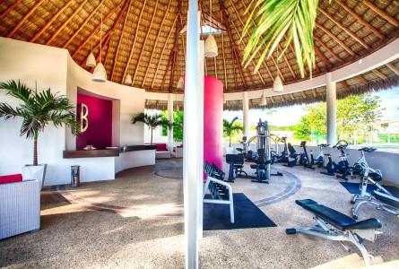 Instalaciones Gimnasio Hotel B Nayar Riviera Nayarit Resort Todo Incluido