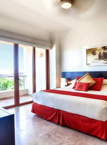 Cama Balcon Habitacion Hotel B Nayar Riviera Nayarit Resort Todo Incluido