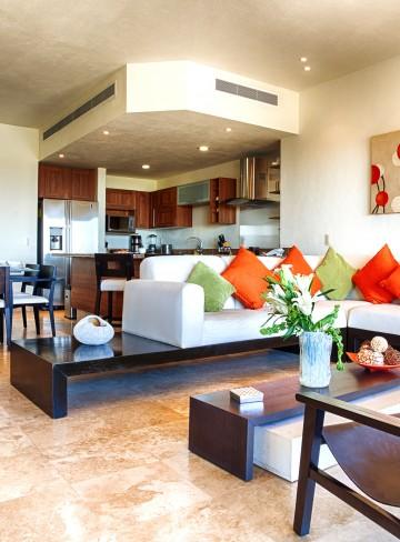 Sala Mesa Concina Villa Hotel B Nayar Riviera Nayarit Resort Todo Incluido