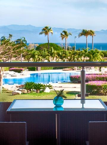 Vista alberca Habitacion Hotel B Nayar Riviera Nayarit Resort Todo Incluido