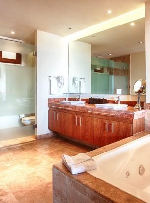 Baño Habitacion Hotel B Nayar Riviera Nayarit Resort Todo Incluido