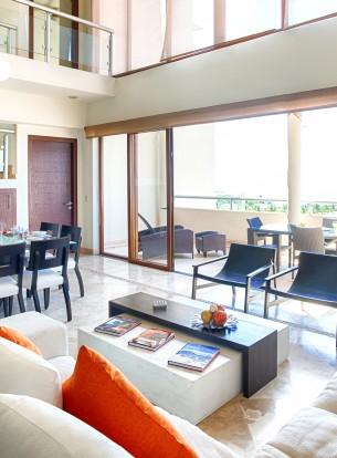 Sala Balcon Villa Hotel B Nayar Riviera Nayarit Resort Todo Incluido