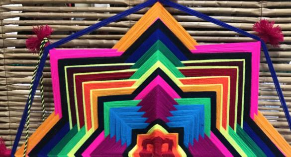 Venta Arte Huichol en Hotel B Nayar Riviera Nayarit Resort Todo Incluido