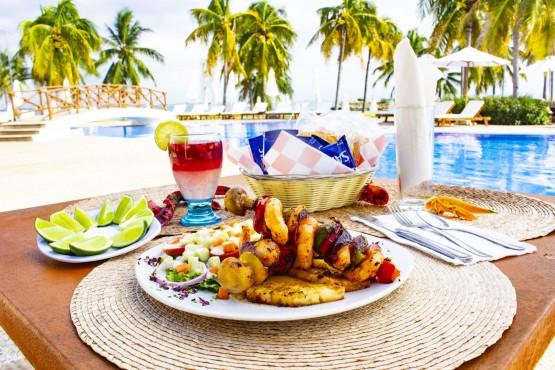 Mariscos Restaurantes Hotel B Nayar Riviera Nayarit Resort Todo Incluido
